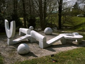 Image of Horace Farlowe's 'Circular Rest'
