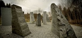 Image of Magdalena	Abakanowicz's 'Space of Stone'