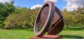 Image of Fletcher Benton's 'Folded Circle Ring'