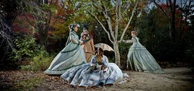 Image of Seward Johnson's 'The Hunting Party'