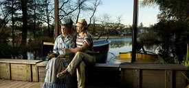 Image of Seward Johnson's 'Sailing the Seine II'