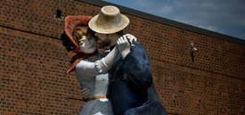 Image of Seward Johnson's 'A Turn of the Century'