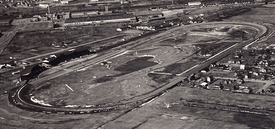 Historical image of the racetrack